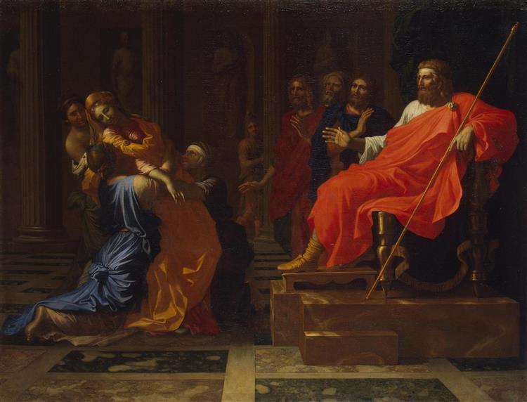 Esther before Ahasuerus, 1655 - Nicolas Poussin
