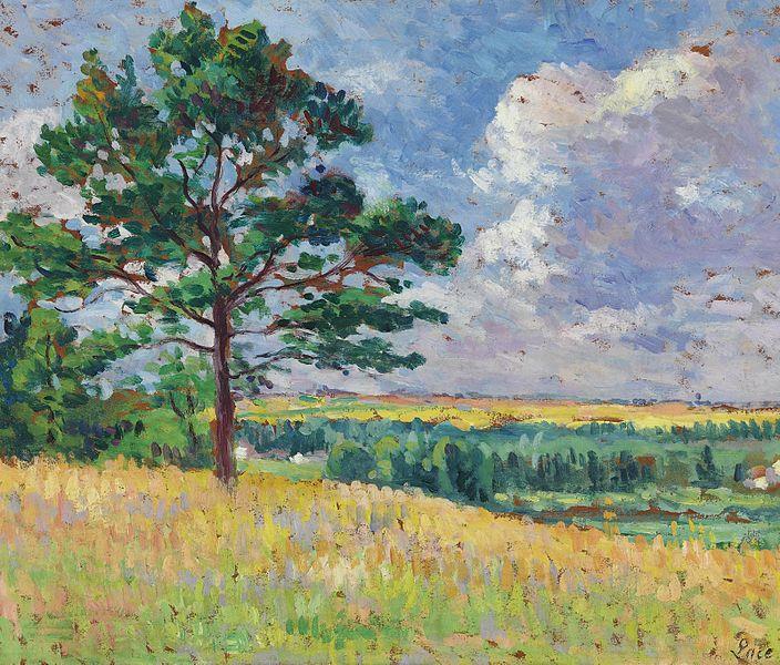 Paysage près de Méréville, c.1905 - Maximilien Luce