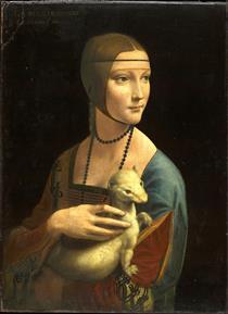 La signora con un ermellino (Cecilia Gallerani) - Leonardo da Vinci
