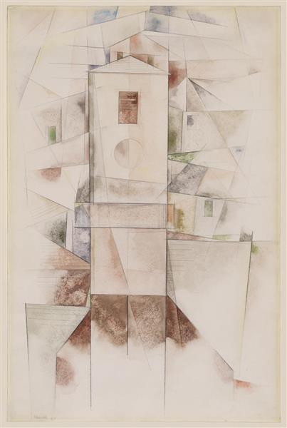 White Architecture, 1917 - Charles Demuth