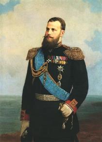 Portrait of Grand Duke Alexei Alexandrovich - Алексей Иванович Корзухин