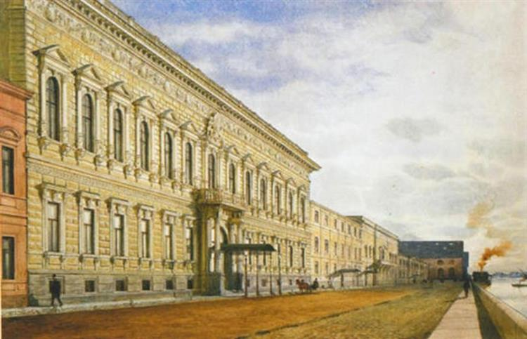 Palace of Great Prince Pavel Alexandrovich - Albert Benois