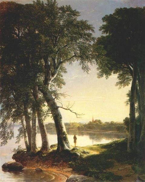 Early Morning at Cold Spring - Asher Brown Durand