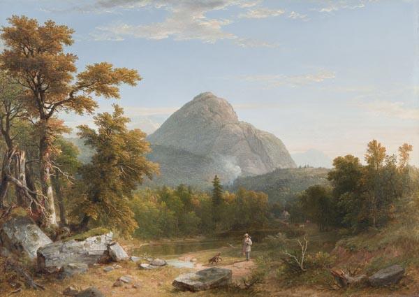 Landscape, Haystack Mountain, Vermont - Asher Brown Durand