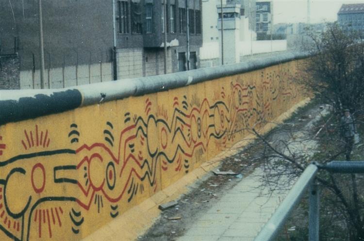 Berlin Mural, 1986 - Кит Харинг