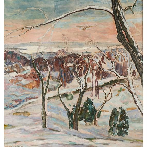 Impressionist Landscape - Marjorie Acker Phillips