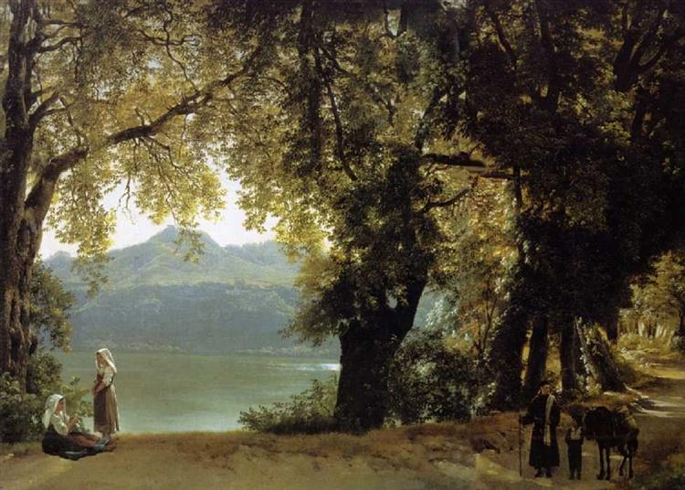 Lago Di Albano, c.1825 - Silvestr Shchedrin