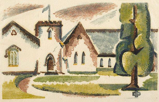 The Parish Hall, 1937 - Dorrit Black
