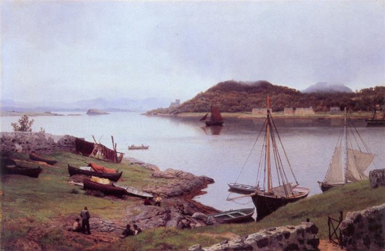 Oban Bay - Hans Gude