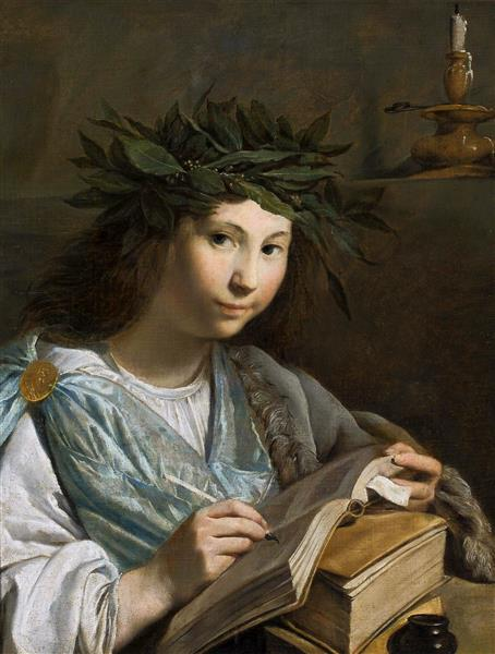Clio - Muse of History - Johannes Moreelse