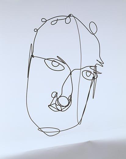 SELF PORTRAIT, 1968 - Александр Колдер