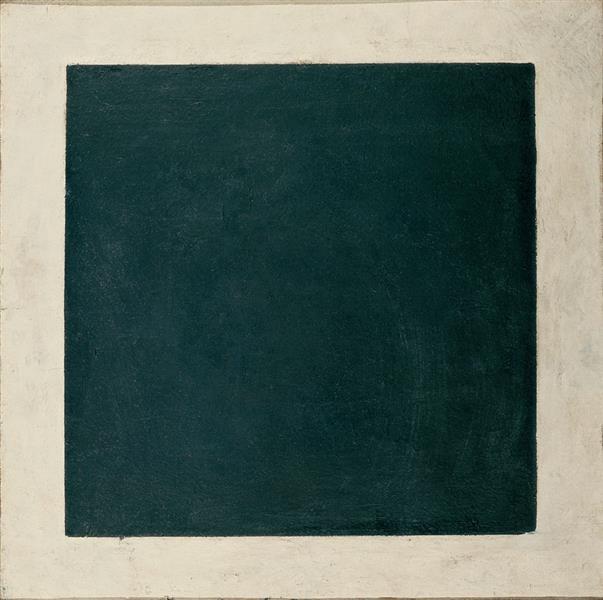 Black Square (4th version), c.1930 - c.1932 - Казимир Малевич