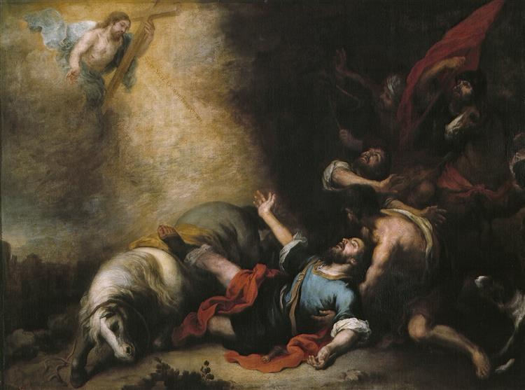 The Conversion of Saint Paul, 1675 - 1682 - Bartolome Esteban Murillo