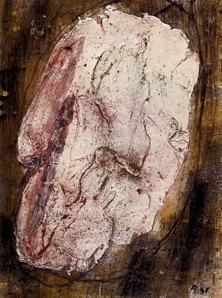 Otage n°3, c.1945 - Jean Fautrier