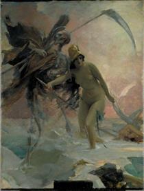 Třeštění, Nenávist a Smrt, Studie - Maximilian Pirner