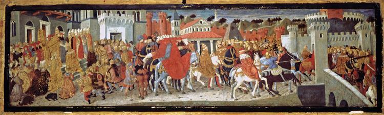 Frederick Iii and Leonora of Portugal in Rome, 1452 - Lo Scheggia