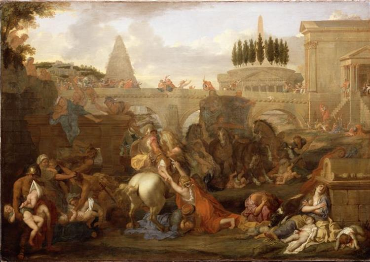 Le Massacre Des Innocents - Charles Le Brun