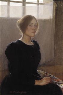 Self Portrait - Elin Danielson-Gambogi