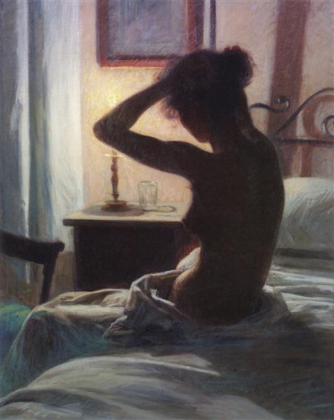 To Bed, 1897 - Elin Danielson-Gambogi