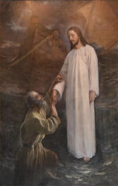 Peter on the water, 1892 - Eero Järnefelt