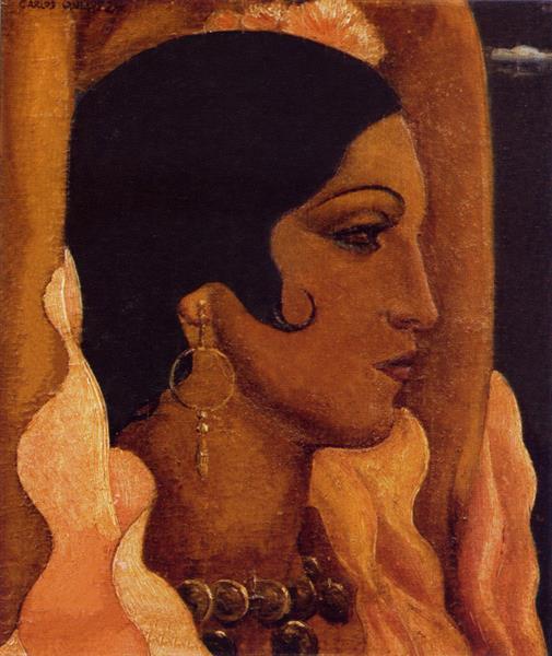 Cabeza De Gitana, 1934 - Carlos Quizpez Asín