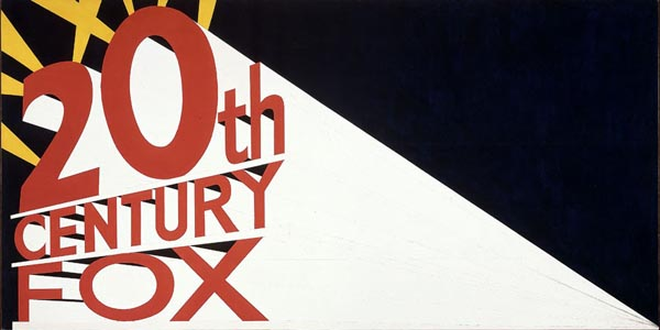 Large Trademark With Eight Spotlights, 1962 - Edward Ruscha