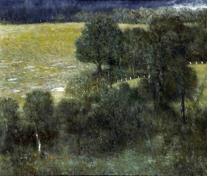 Forest Trees, 1987 - Richard Eurich