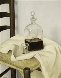 Chair with Bottle - Werner Peiner