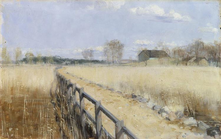 Runsala Bro, c.1891 - Elin Danielson-Gambogi