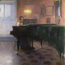 Pianospelare - Elin Danielson-Gambogi