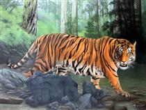 Tiger - King of The Jungle - Mas'ud Dalhar
