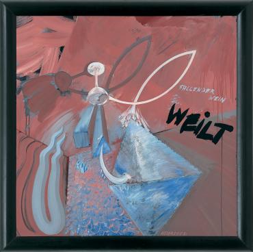 FALLENDER WEIN WEILT - Christian Attersee