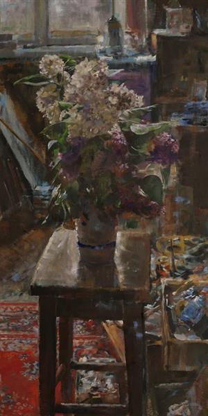 Bzy w pracowni - Czesław Jan Pyrgies