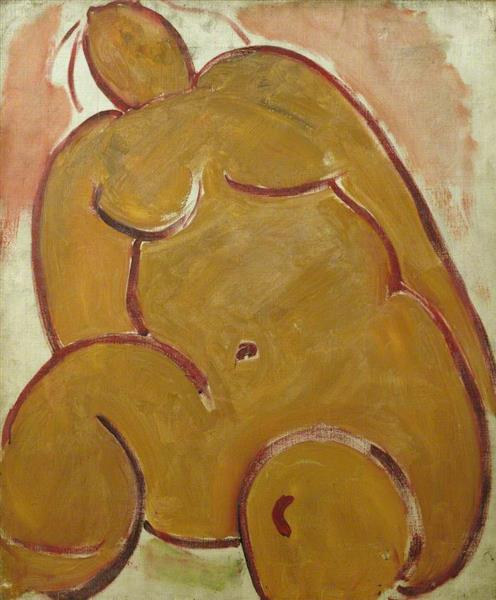 Abstract Nude, 1930 - Matthew Smith