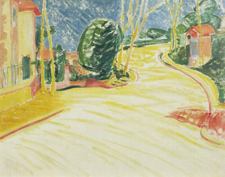 Small French Landscape, 1914 - Matthew Smith