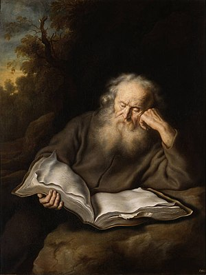 The Hermit, 1643 - Salomon Koninck