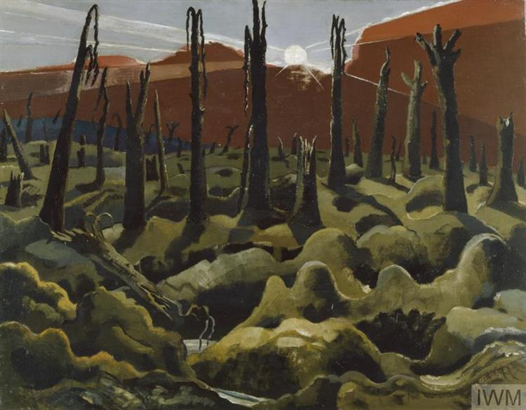 We are Making a New World, 1918 - Paul Nash