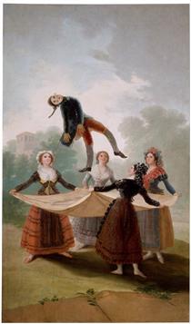 Il manichino di paglia - Francisco Goya