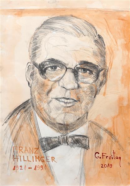 Franz Hillinger - Gazmend Freitag