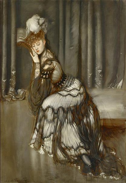 Madame Rémy Salvaor, 1901 - Antonio de la Gándara