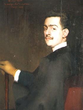Portrait of Gabriel De Yturri - Antonio de La Gándara