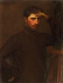 Portrait Carl Ernst Von Stetten - Gustave Courtois