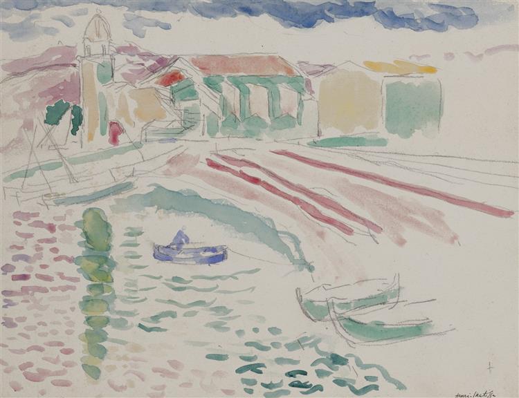 Collioure, 1905 - Henri Matisse