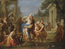 The Rape of the Sabine Women - Placido Costanzi