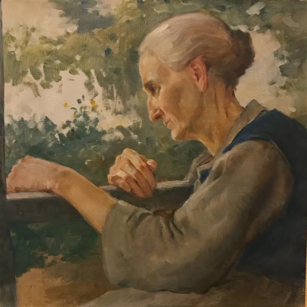The Artist's Mother, 1925 - Dobri Dobrev