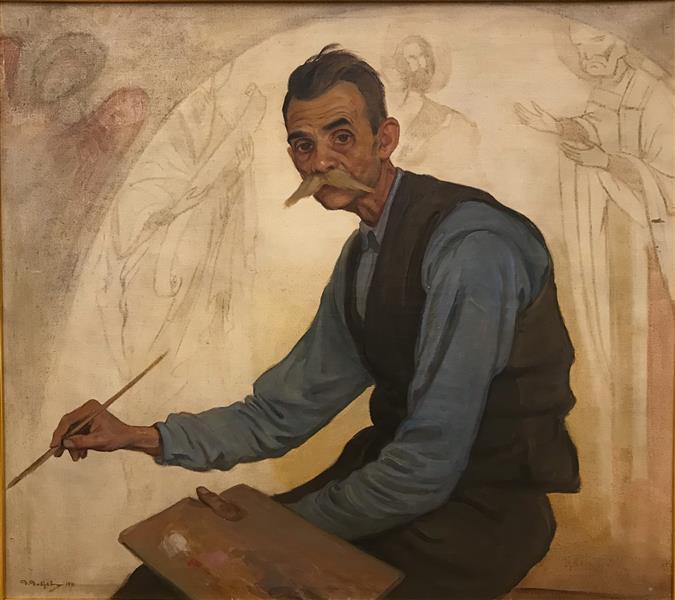 Iconographer Atanas Kavrakov, 1941 - Dobri Dobrev