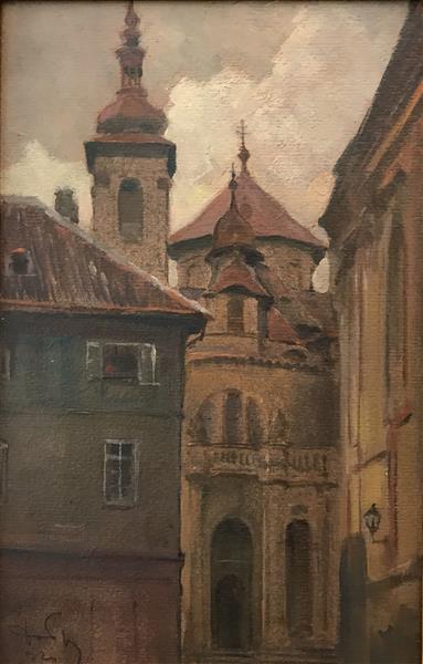 In Prague, 1924 - Dobri Dobrev