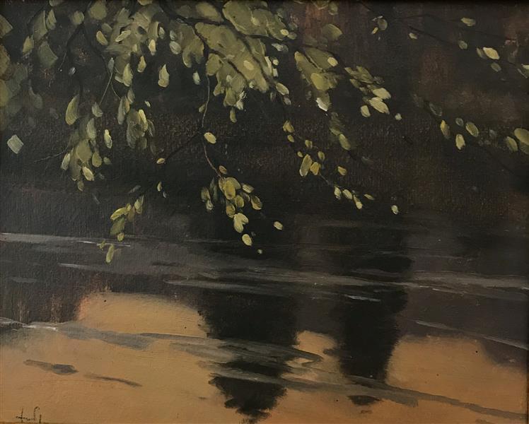 Prague, Vltava River, c.1924 - Dobri Dobrev