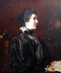 Portrait of a Lady - Ivan Mrkvička