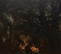 Haiduti in the Forest - Ivan Mrkvička